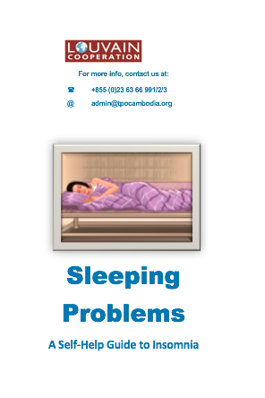4 Leaflets: 1.Sleeping Problems: A Self-Help Guide to Insomnia